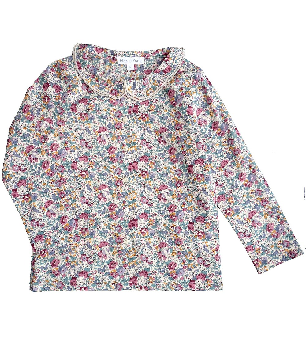 Blouse en Liberty Albertine