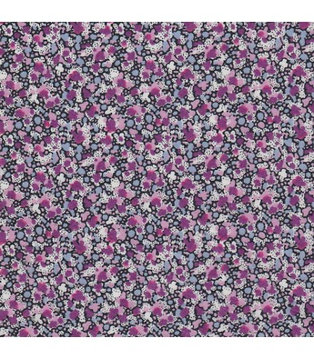 Liberty yard fabric Pepper violet pattern