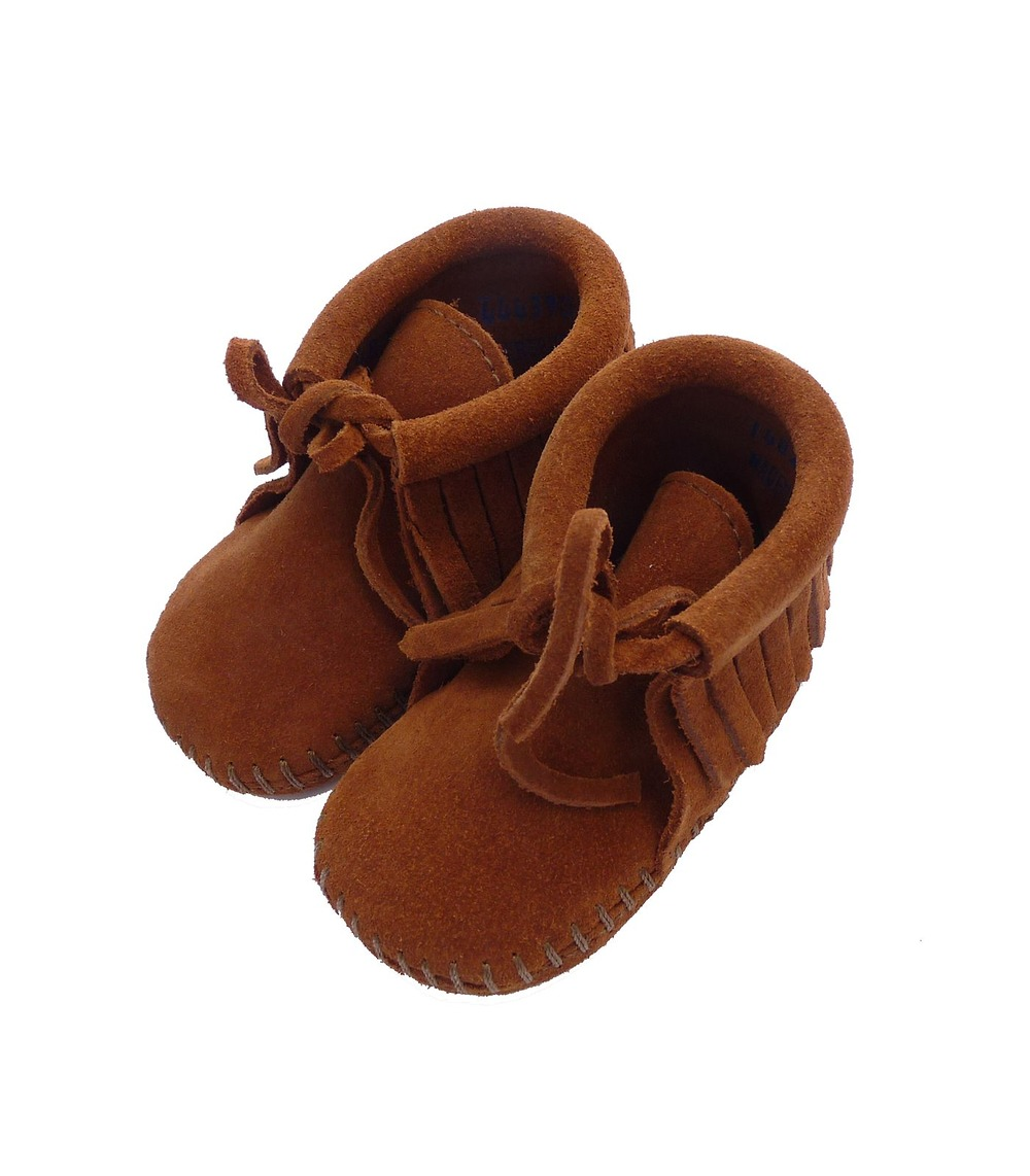 chaussures franges bebe