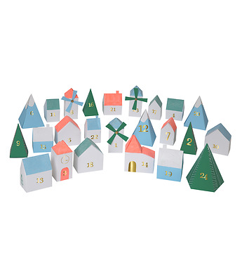 Advent calendar - Houses