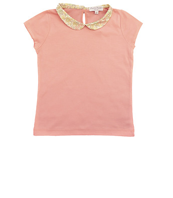 T-Shirt with Liberty collar