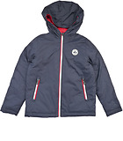 Reversible puffed jacket