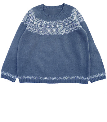 Pull jacquard Lucien