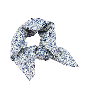 Foulard carré en Liberty