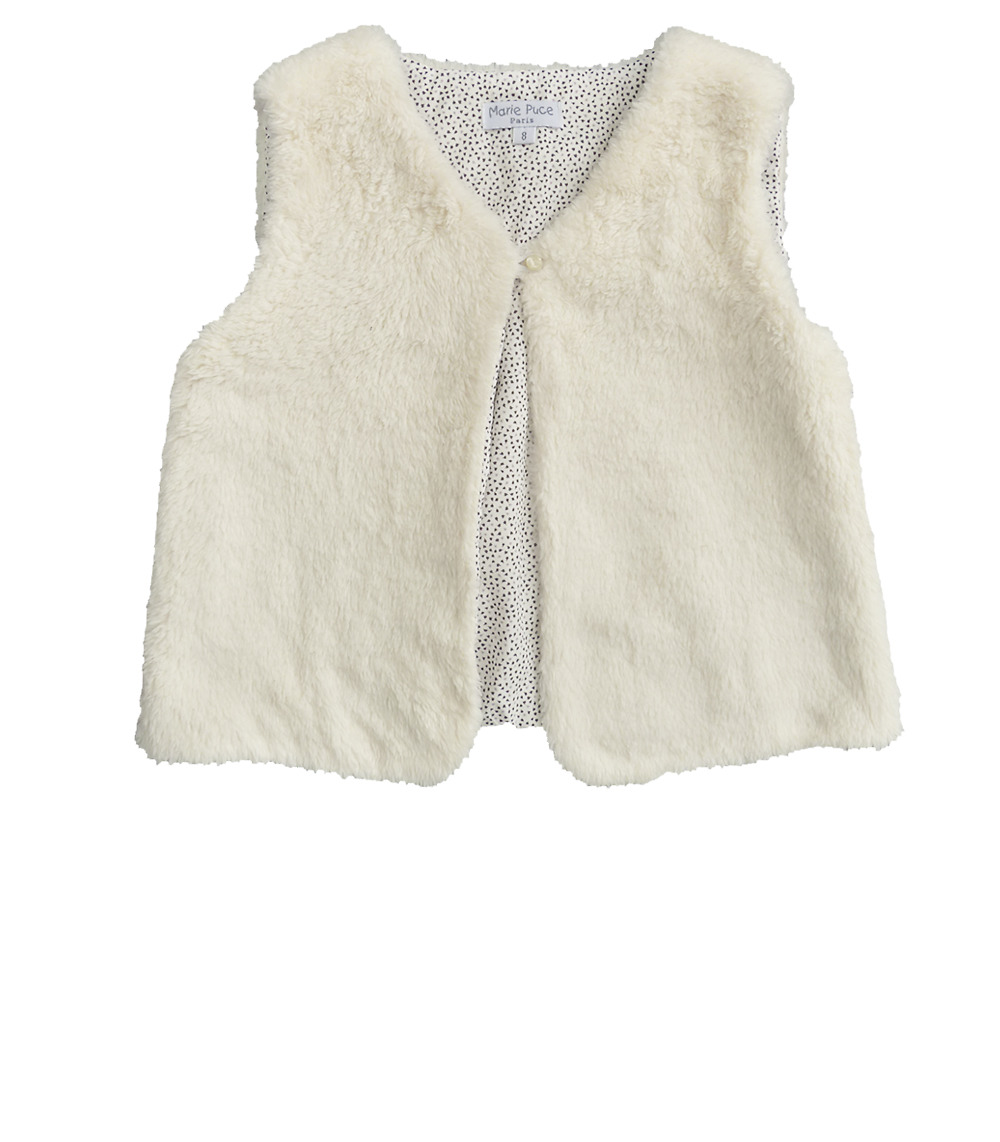 Galatée sleeveless vest