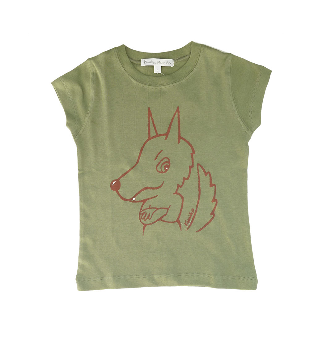Wolf T-shirt by Kimiko