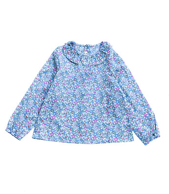 Blouse en Liberty Bulle