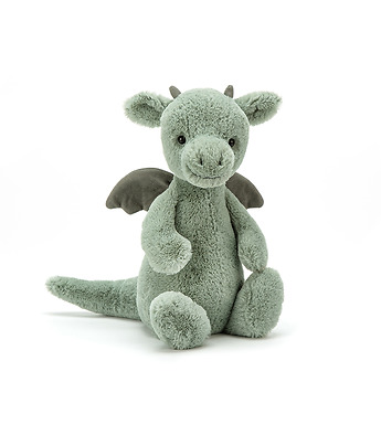 Bashful dragon baby toy