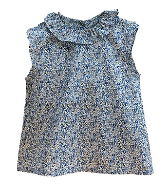 Blouse en Liberty Alicia
