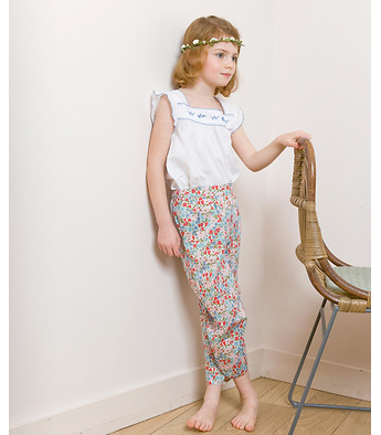 Pantalon Hawai en liberty
