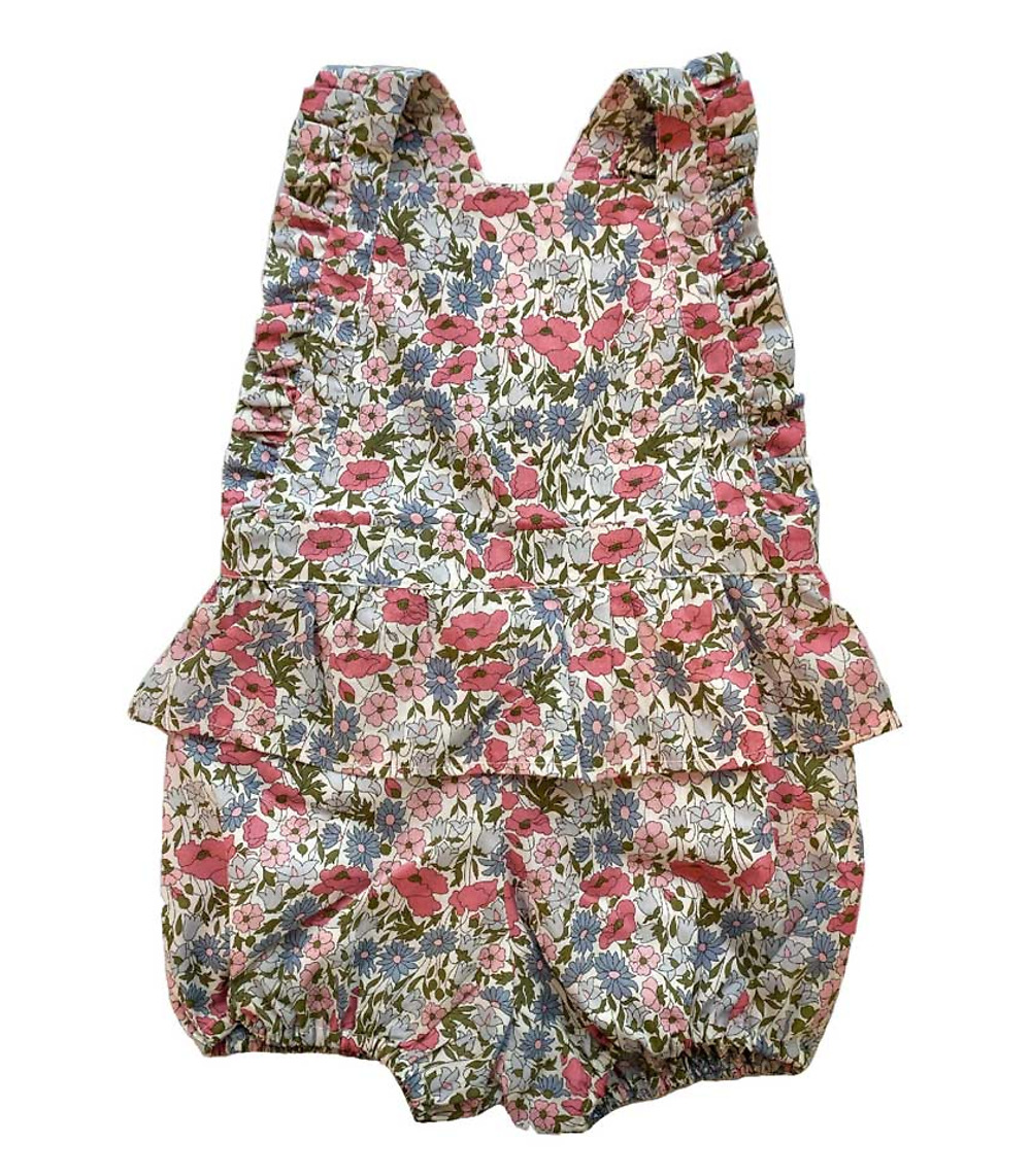 Lily rompers in Liberty
