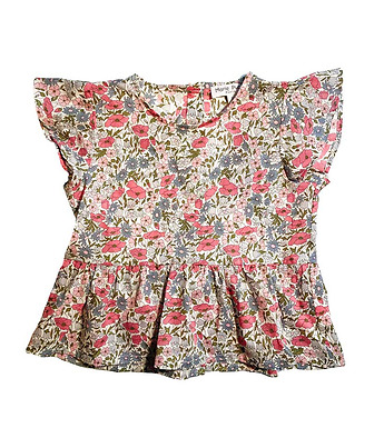 Blouse en Liberty Maeva