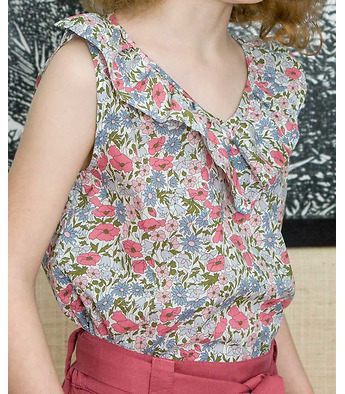 Marilou blouse in Liberty