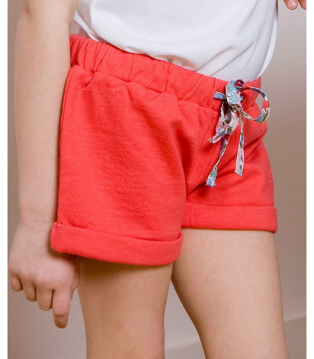 organic fleece shorts