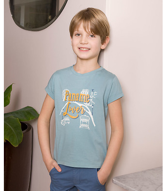 "T-shirt ""Paname"" in organic cotton"